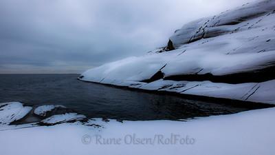 Vintergrått i havgapet