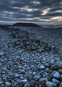 Mørke skyer over en vikinghøvdings grav