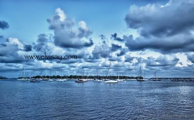 Coconut Grove Marina, Florida