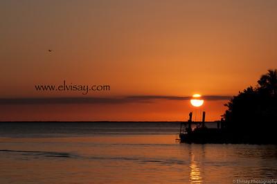 Sunset in Key Largo,Fl