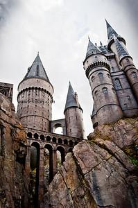 Harry Potter Castle, Universal Studios, Orlando