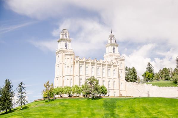 Manti Utah LDS Temple