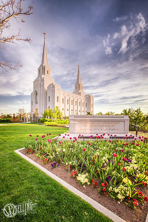 LDS Brigham City Temple, Brigham City, Utah