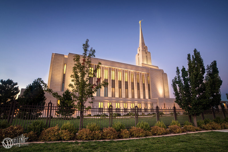 LDS Oquirrh Mountain Temple, South Jordan, Utah