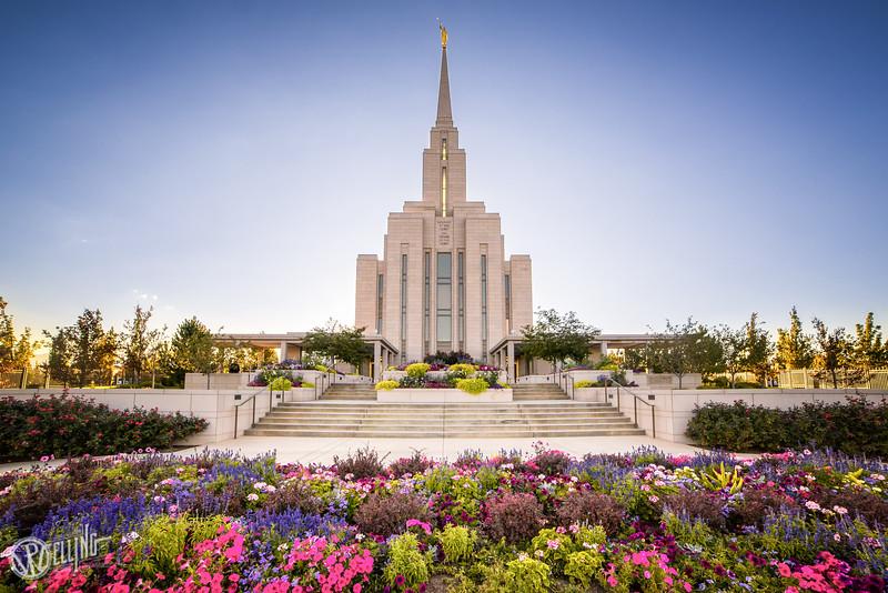 LDS Oquirrh Mountain Temple, South Jordan, Utah