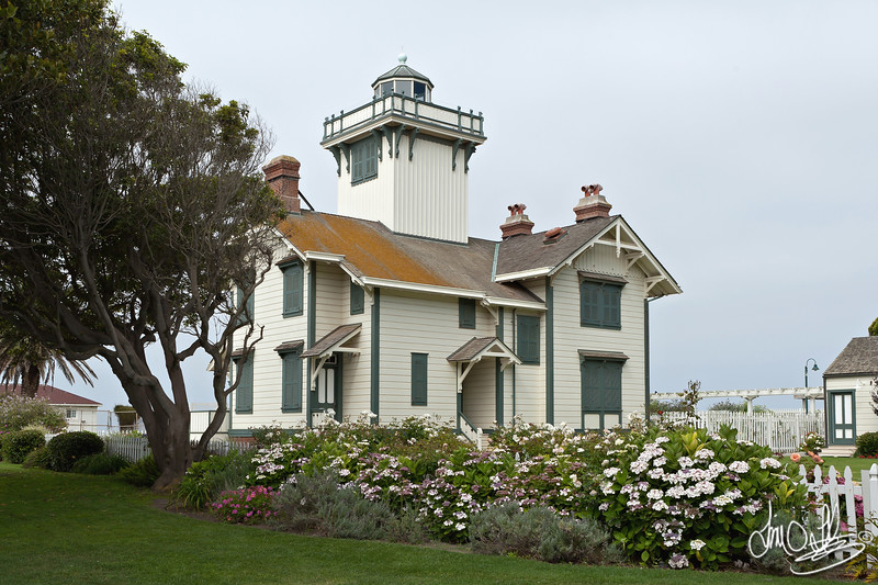 Point Fermin Lighthouse built in 1874<br /> San Pedro, CA