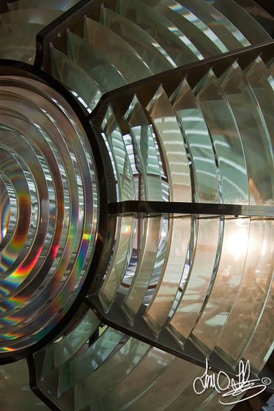 Point Vicente Lighthouse 3rd order Fresnel lens