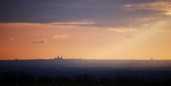 Lincoln Cathedral from Normanby-le-Wold