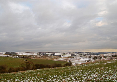 View South of Normanby-le-Wold