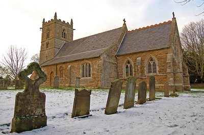 St Peter's church, Normanby-le-Wold