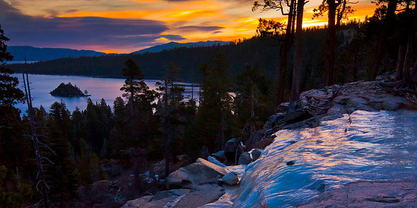 Eagle Falls, Emerald Bay, California