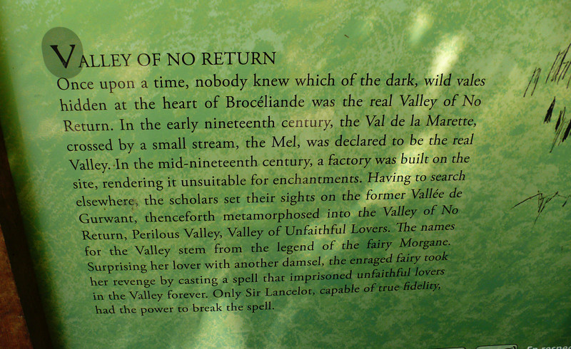 The Valley of No Return.....