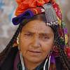 A Drokpa- woman from the aryan village of Dah Hanu