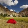 Camping in the Markha Valley, Skiu Village