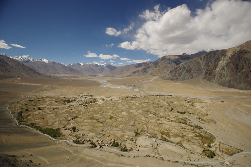The view from Stongde monastery