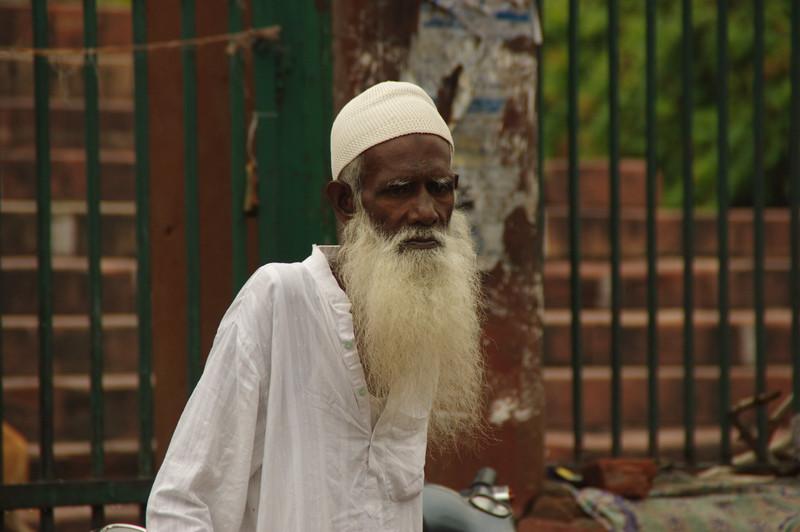 At Jama Masjid Mosque, Old Delhi