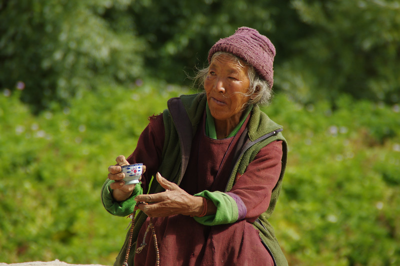 Ladakhi Lady near Thikse