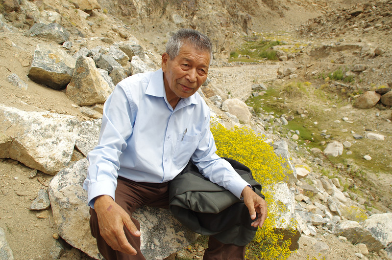 The 'glacier man' Chewang Norphel