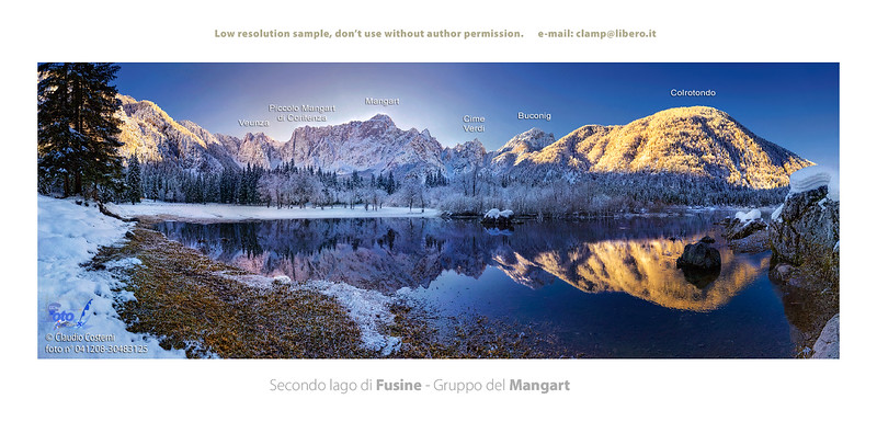 Secondo lago di Fusine - foto n° 041208-30483125