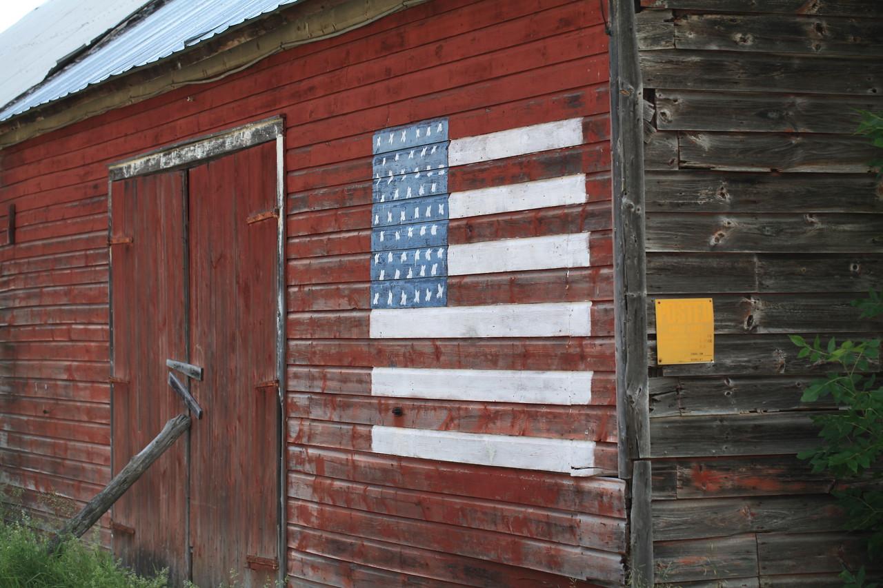 Flag barn