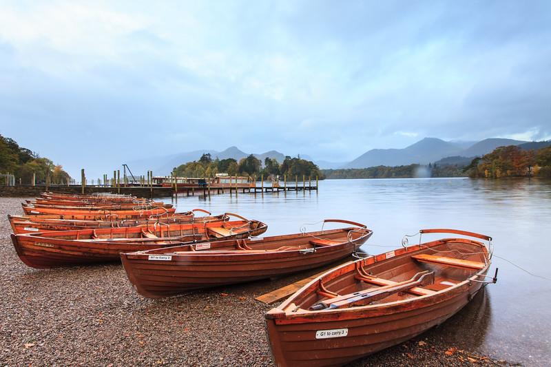 Row Boats at Derwent