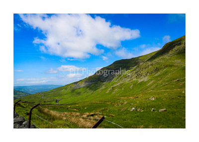 Red Screes in shade