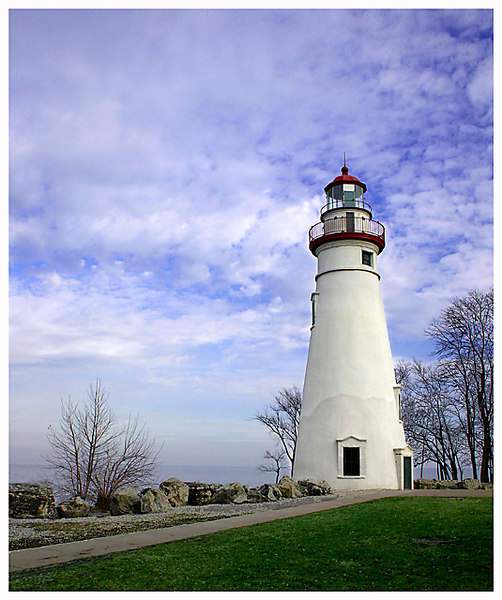 Lighthouse at Marblehead, Ohio