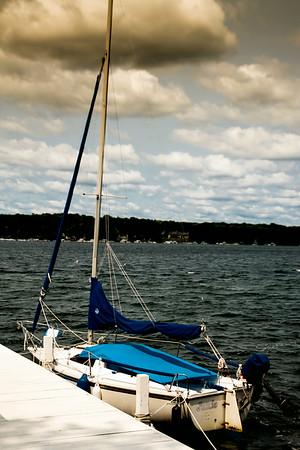 Lake Geneva, WI. Lake Walk 7-2014