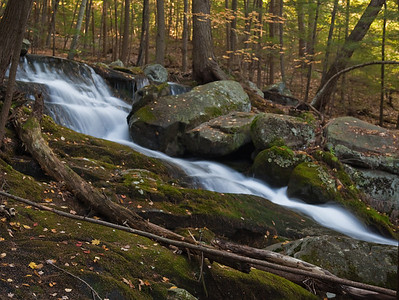 Unnamed waterfalls near Lake George Recreation Area, Lake George, NY.