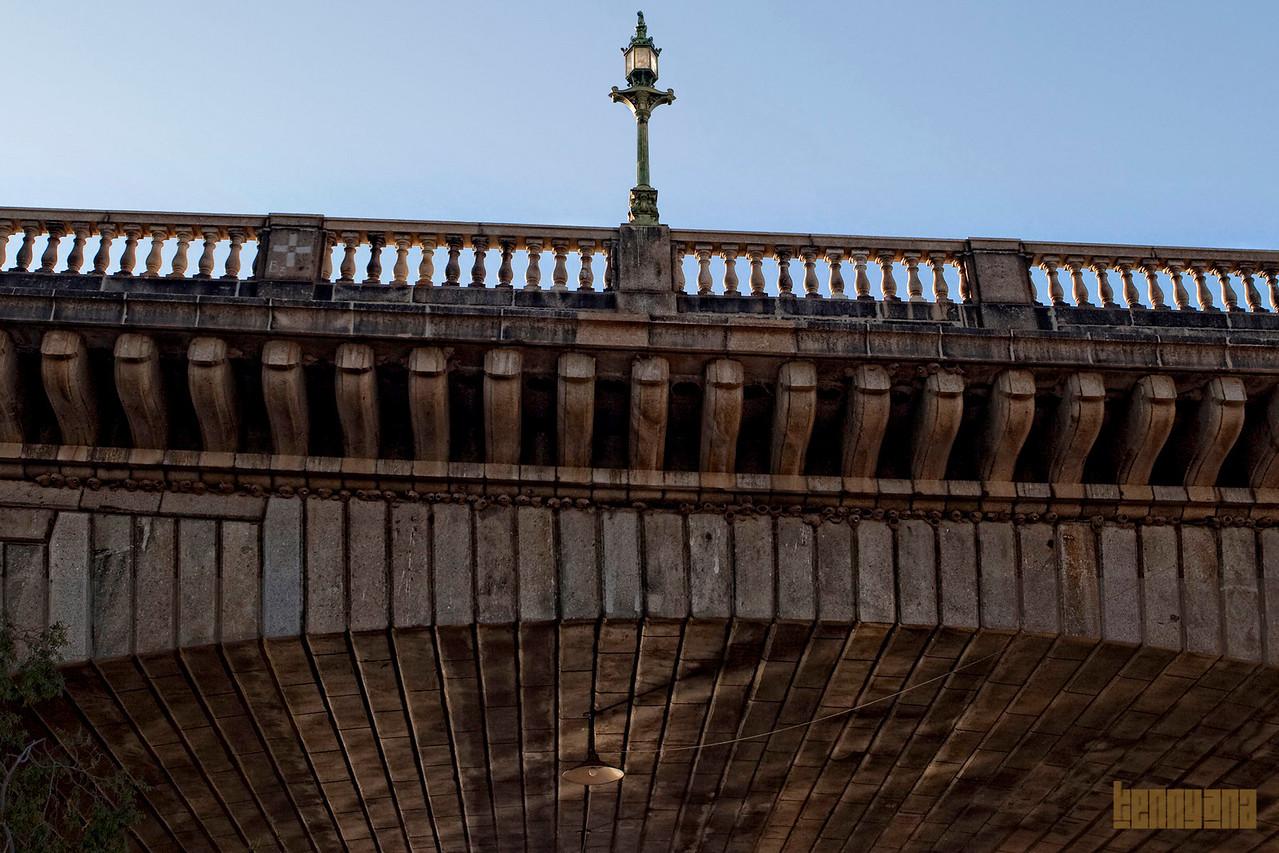 Under the bridge. Up close.