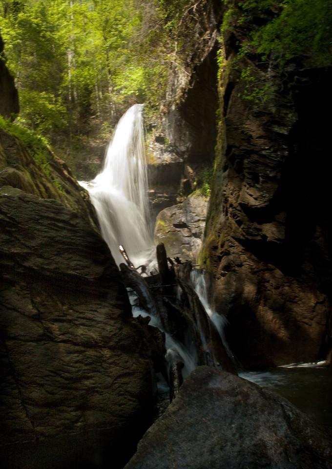 Laurel Fork Falls on Lake Jocassee, Oconee County, SC