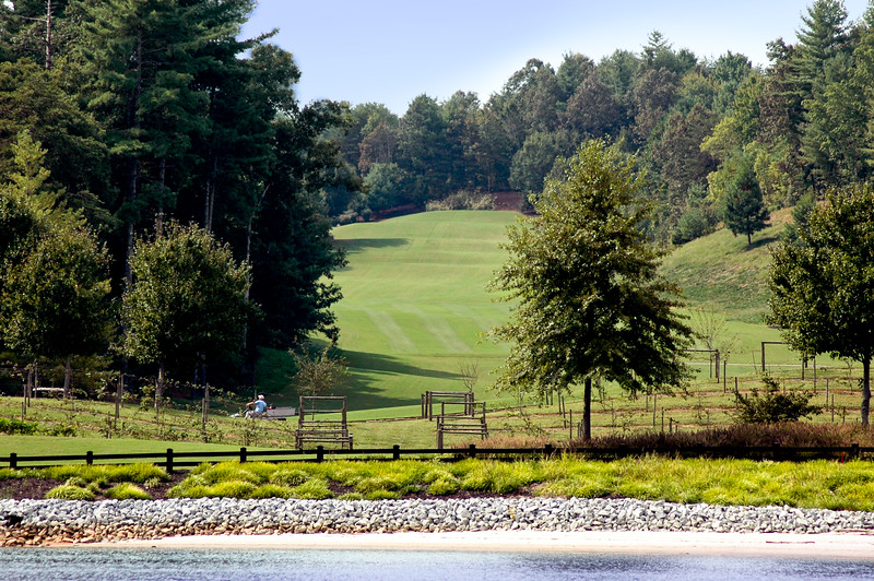 Golf course on Lake Keowee