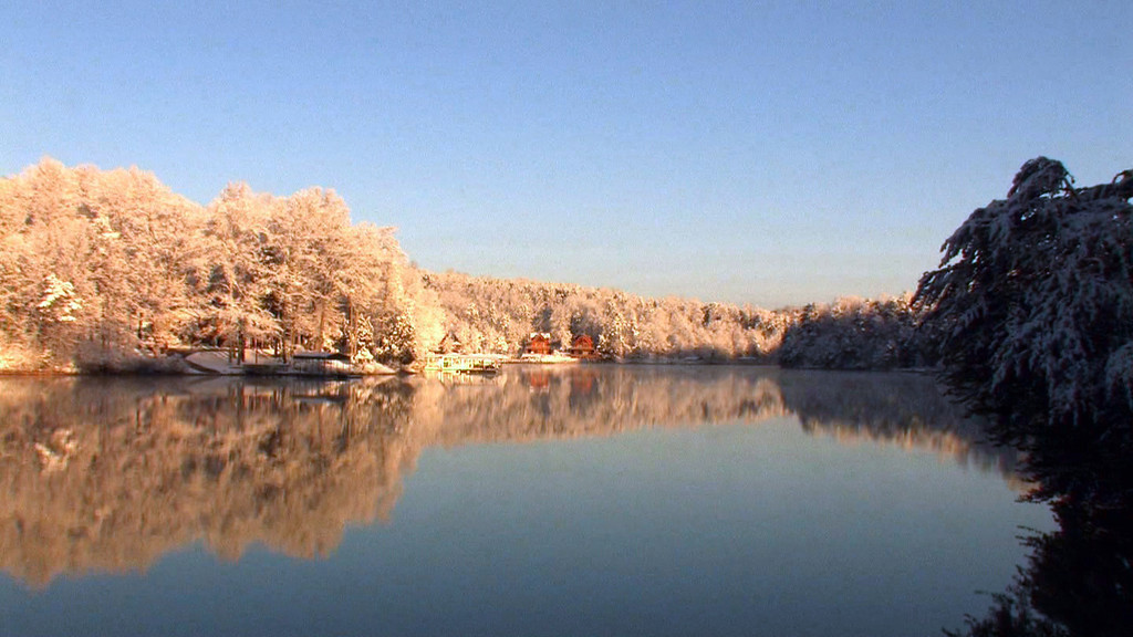 """Snow Falling on Lake Keowee""<br /> A musical tribute to a rare snowfall captured in December 2010 on Lake Keowee in Oconee County South Carolina."