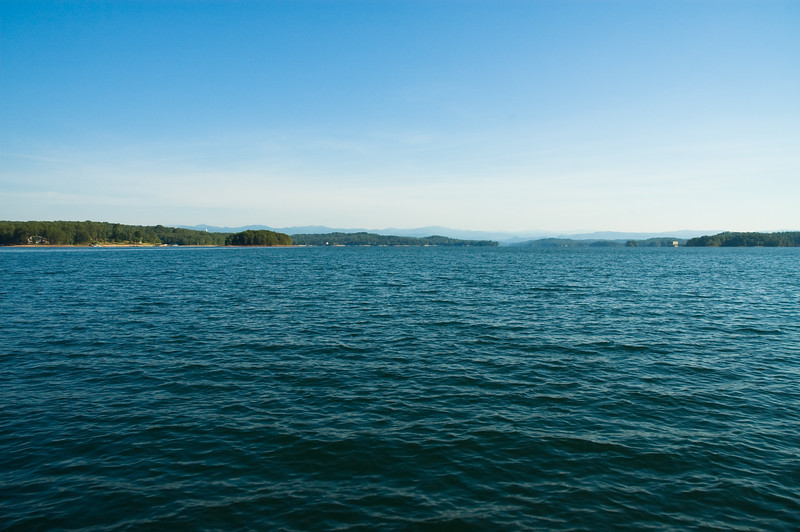 Big water view of Lake Keowee