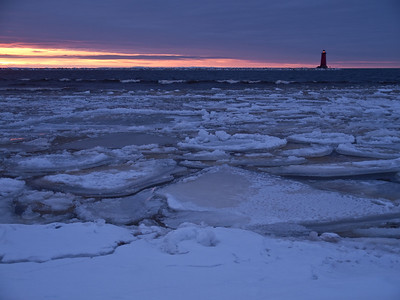 Lake Michigan-Manistique Lighthouse