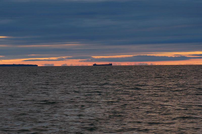 One of Many Ships on Lake