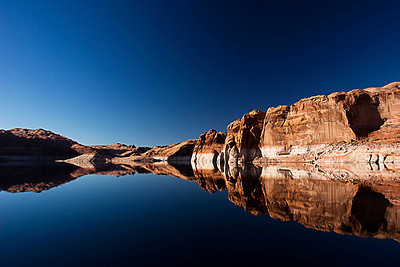 Reflections, Lake Powell, Utah