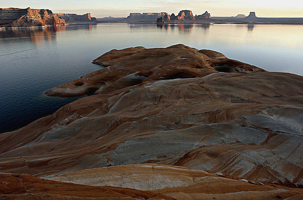 Padre Bay, Lake Powell at Sunset
