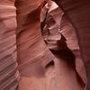 Narrow Slot Canyon Walls