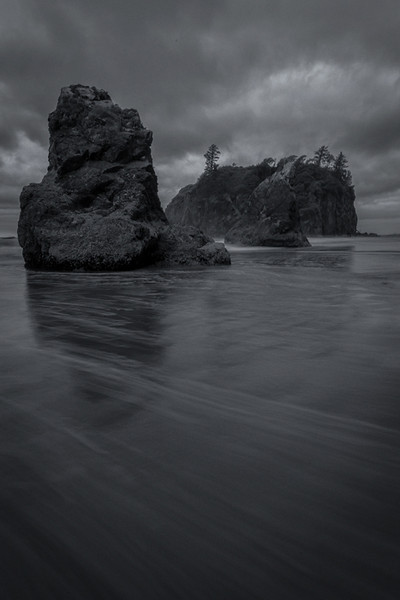Grey Morning, Ruby Beach<br /> Forks, Washington