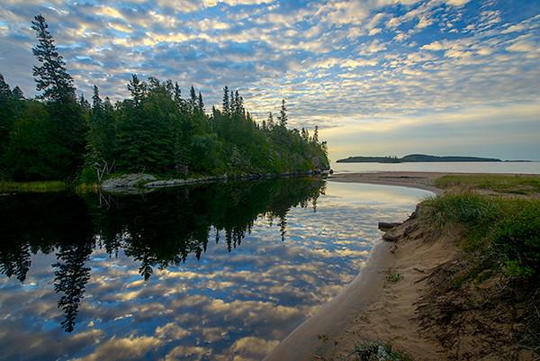 Early Morning on Lake Superior