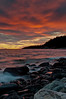 Sunset on Old Woman Bay<br /> Lake Superior Provincial Park
