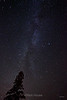 The Milky Way from Pincushion Mountain outside Grand Marais