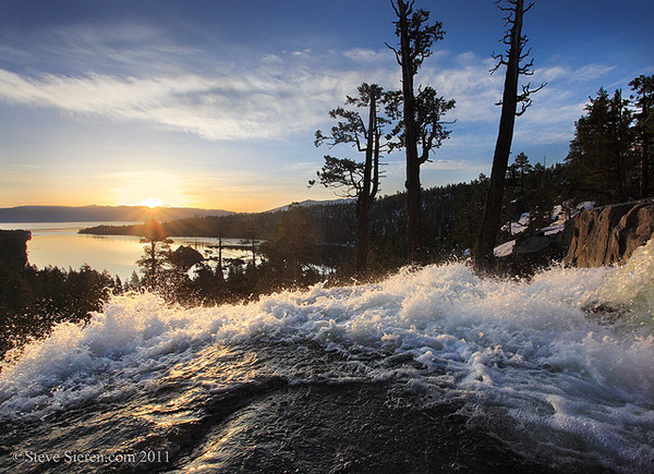 Eagle Falls, Emerald Bay, Lake Tahoe, California