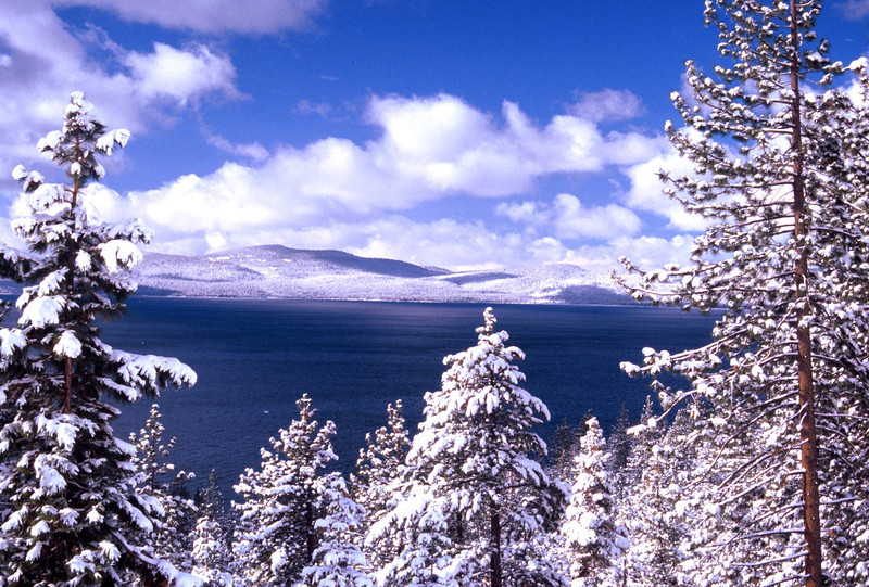 Clearing Storm from the Nevada Side of Lake Tahoe  1997 (lo res scan)