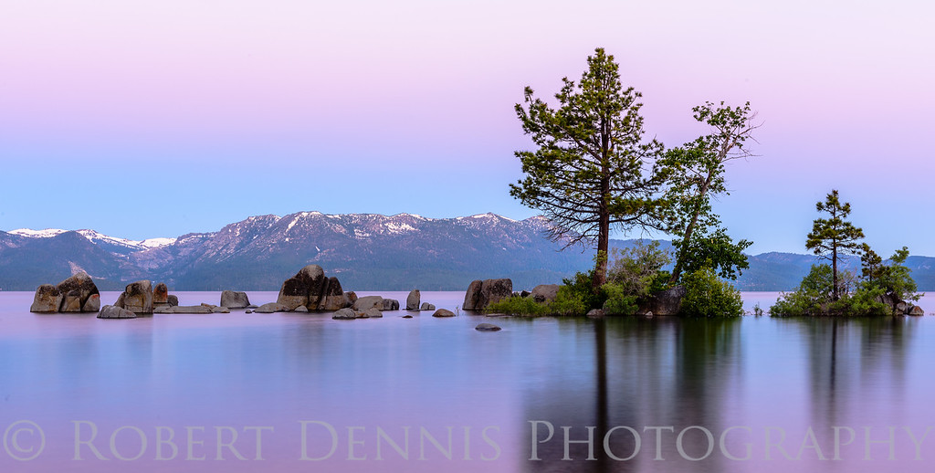 Lake Tahoe dawn