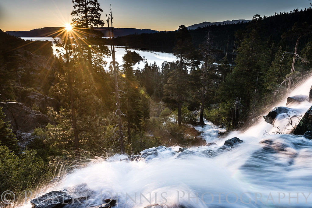 Eagle Falls early morning shoot, June 28, 2017