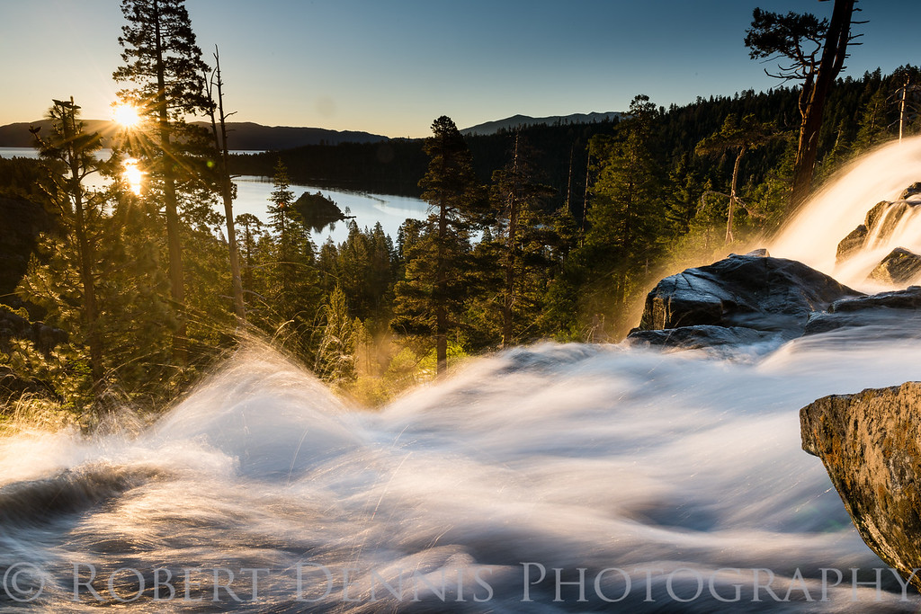 Eagle Falls early morning shoot, June 28, 2017