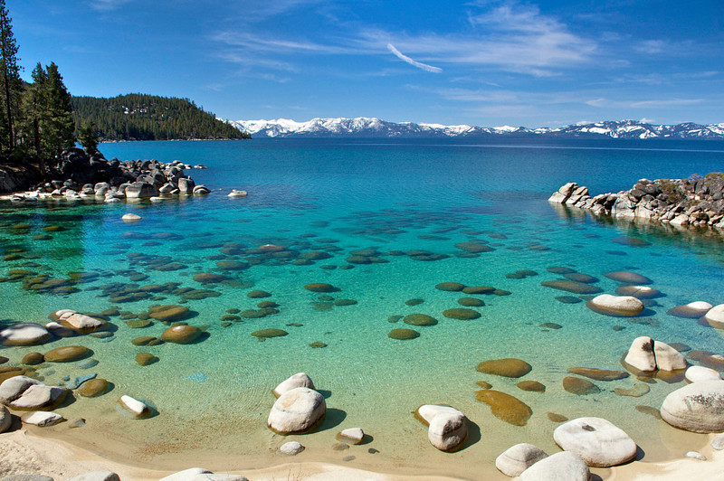 Secret Harbor Cove, East Shore, Lake Tahoe, NV.