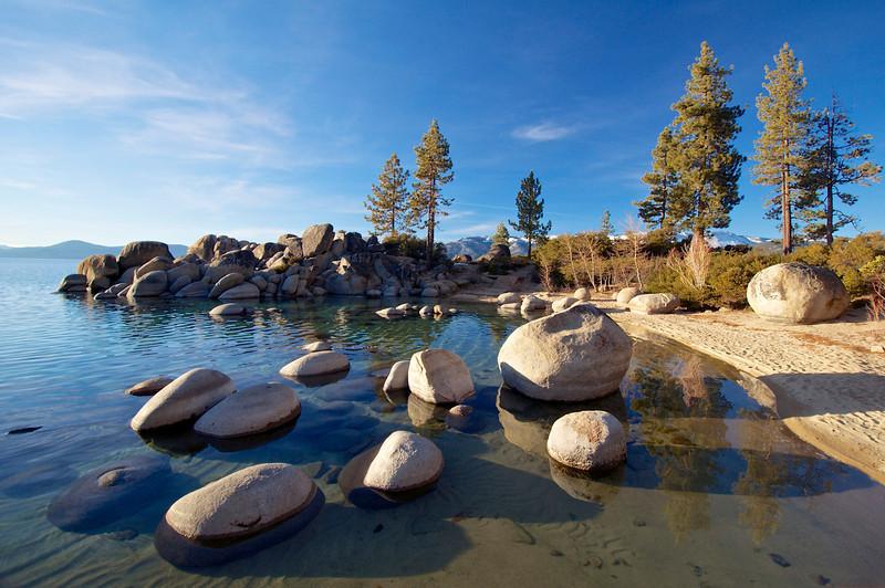 Sand Harbor, Lake Tahoe Nevada State Park.